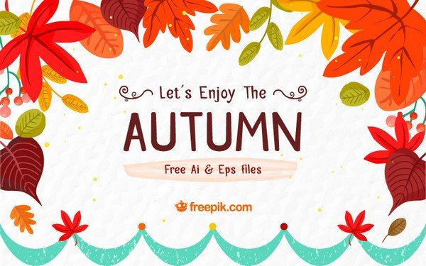 The Autumn Pack Freebie brings eight different card designs, six patterns, and four backgrounds.
