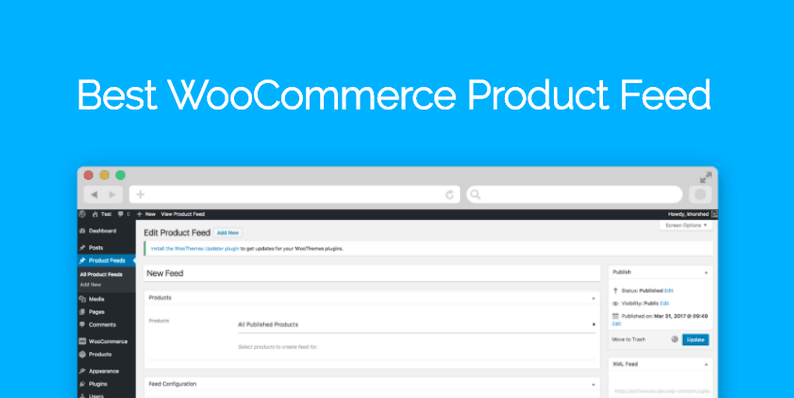 Best WooCommerce Product Feed Plugin: Create Feed in an Instant