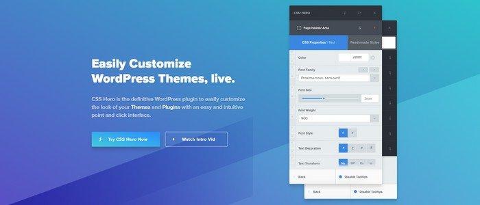 CSSHero WordPress Plugin