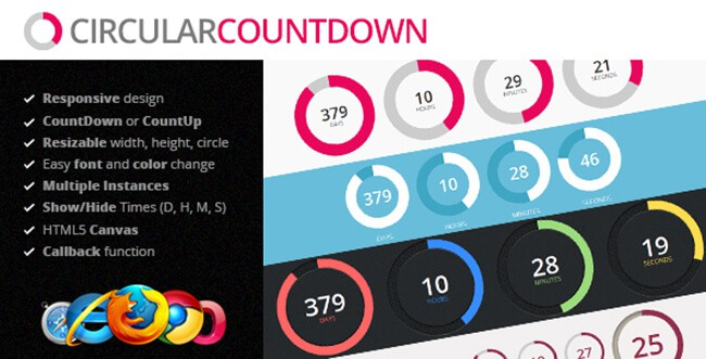 If you need countdowns, this jQuery plugin can prove to be useful.