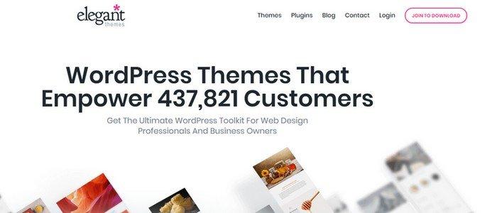 ElegantThemes WordPress Themes