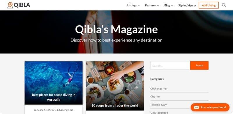 Beautiful Blog Types