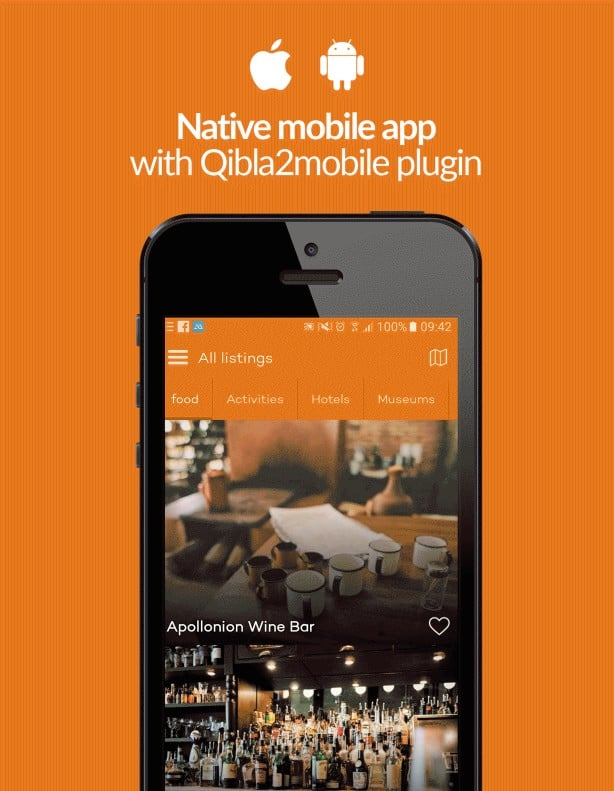 Wicked cool Native Mobile App: Qibla2Mobile Plugin.