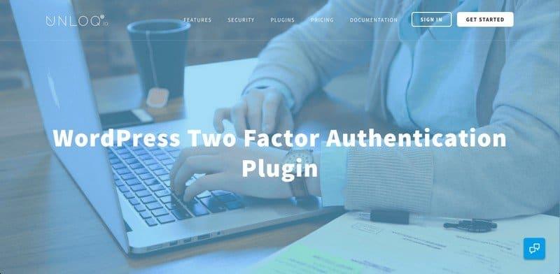 The New UNLOQ WordPress Two Factor Authentication Plugin.
