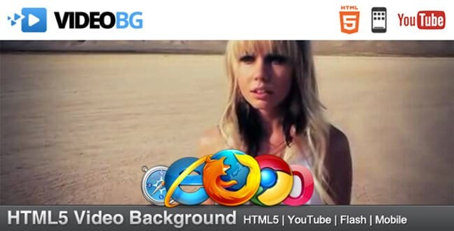 With HTML5 Video Background, you can enjoy the added character that video backgrounds deliver.