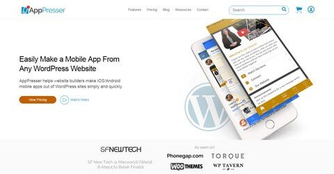 AppPresser WordPress Plugin