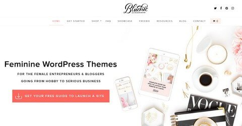 Bluchic WordPress Themes