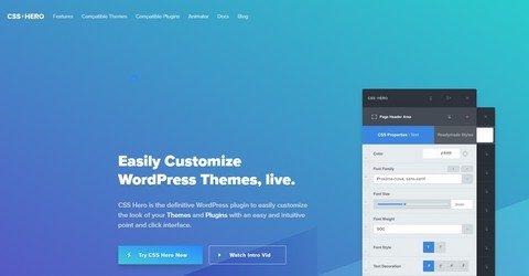 CSS Hero WordPress Plugin