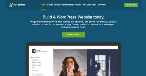 CSSIgniter WordPress Themes and Plugins.