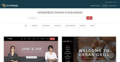 CyberChimps WordPress Themes and Plugins