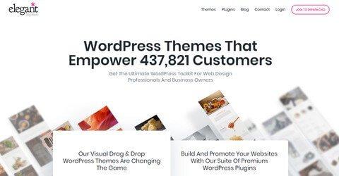 Elegant Themes WordPress Themes
