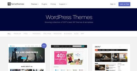 FameThemes WordPress Themes