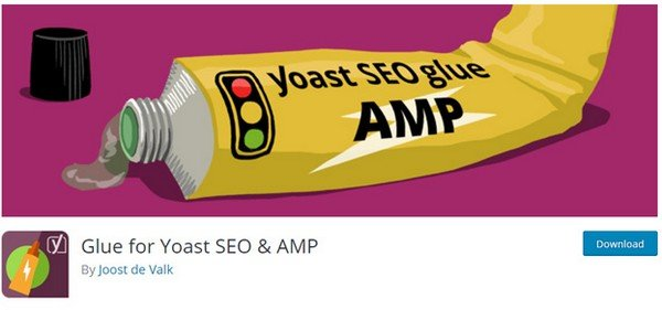 This plugin makes the connection between Yoast and AMP plugins.