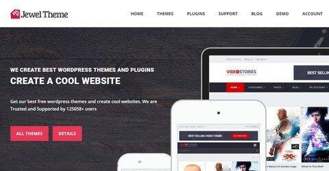 Jewel Theme WordPress Themes