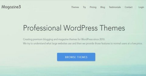 Magazine3 WordPress Themes