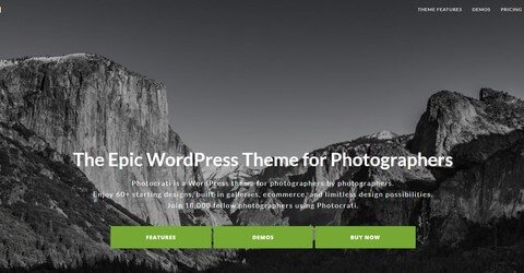 Photocrati WordPress Theme