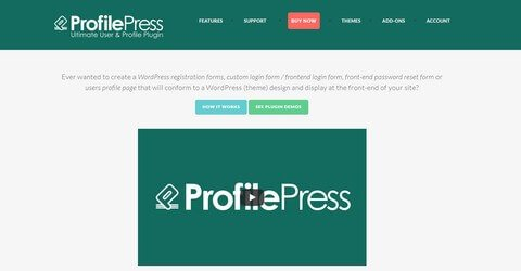 ProfilePress WordPress Plugin
