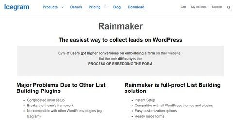 Rainmaker WordPress Plugins
