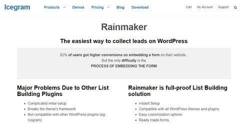 Rainmaker WordPress Plugins