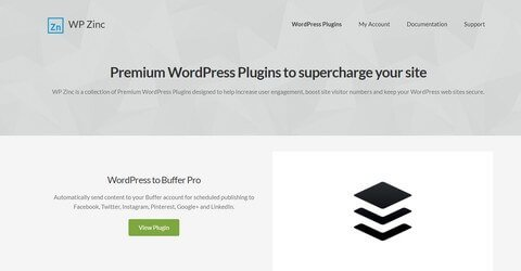 WP Zinc WordPress Plugins