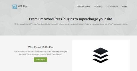 WP Zinc WordPress Plugins
