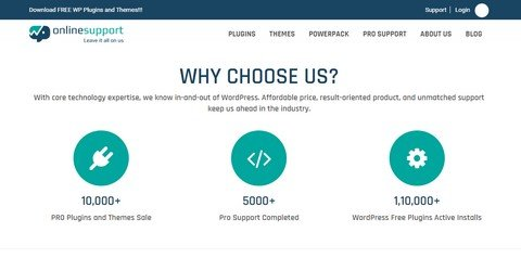 WPOnline Support WordPress Plugins and Themes.
