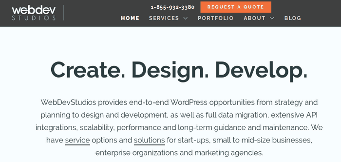 Webdev Studios is a WordPress developing service provider.