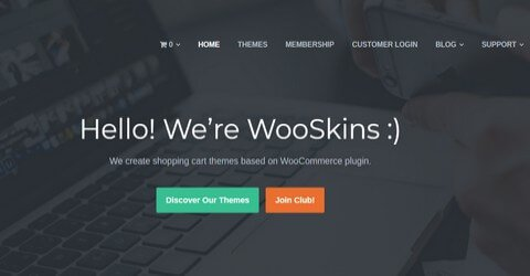 Wooskins WordPress Themes