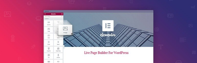 Elementor - A very popular page builder in the directory of wordpress.org.