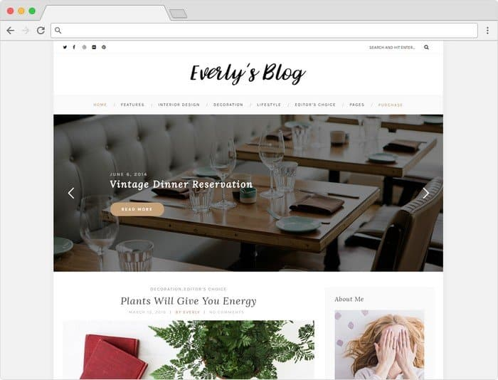 Everly is a classy and modern WordPress Fashion Blog for all the Bloggers.