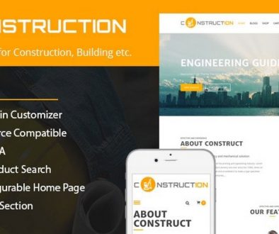Construction Lite WordPress Theme