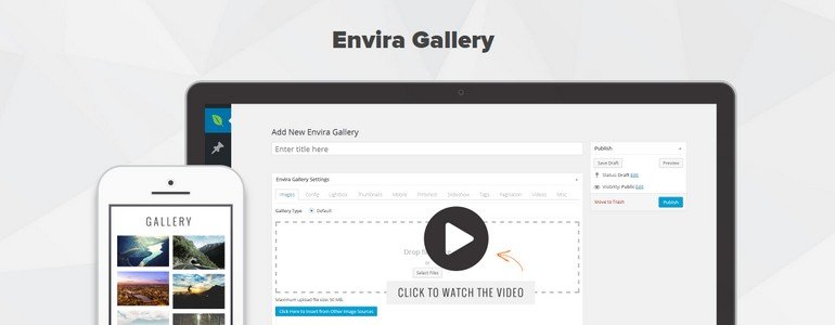 Envira Gallery comes in both free and premium versions.
