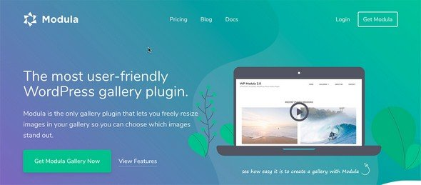 Modula is a great WordPress image gallery plugin.
