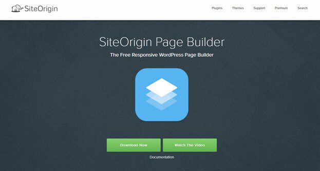 Site Origin Page Builder WordPress Plugin
