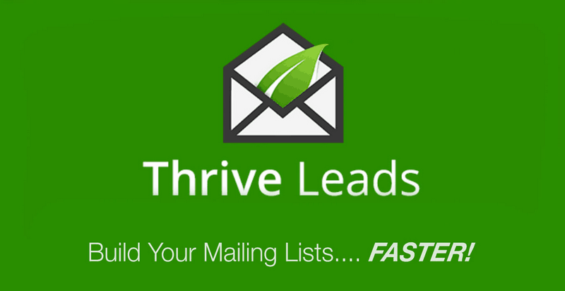 Thrive Leads is definitely one of the most worth-trying list building solutions.