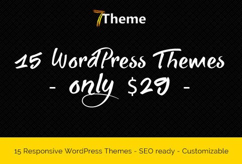 A Bundle of 15 Premium WordPress Responsive Themes