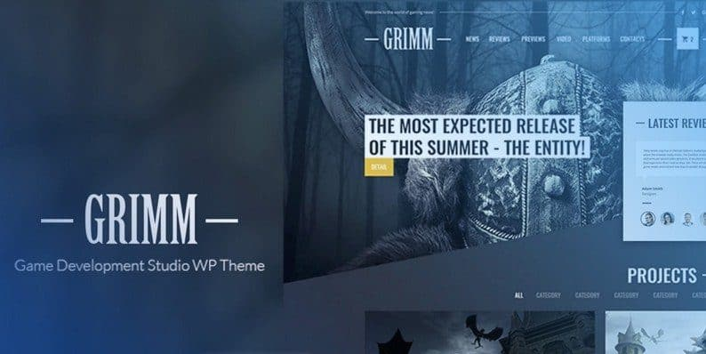 Grimm Lite WordPress Theme