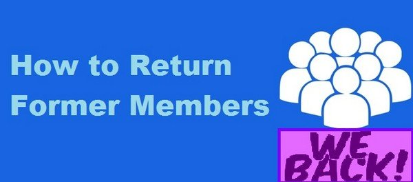 Monetize Your Membership Website - How to Return Former Members.