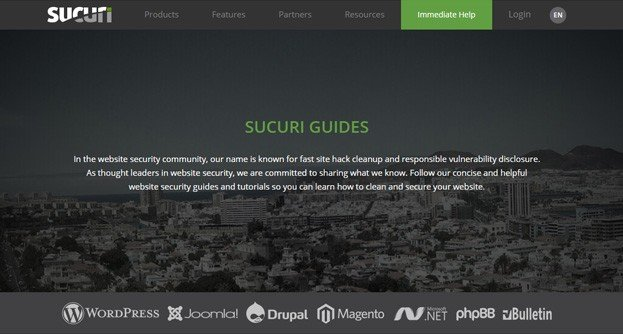 Sucuri is a leading company in the website security industry.