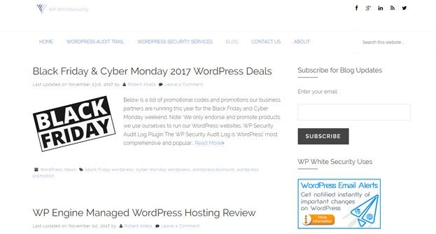 WP White Security is another resource focused on WordPress security.