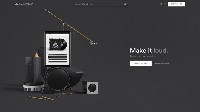 Squarespace is a trusted name in website building.