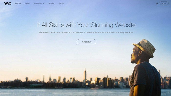 Wix is an Adobe Flash-based website building service.