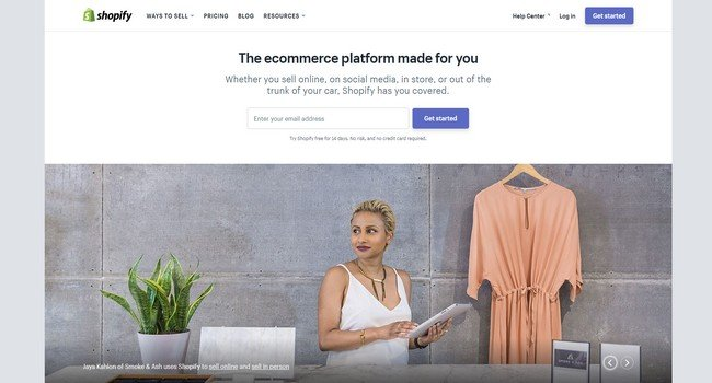 Shopify is an all in one platform that is hassle-free to set up.