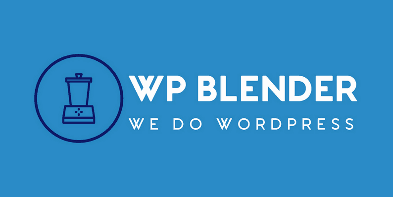 WP Blender Maintenance Solution