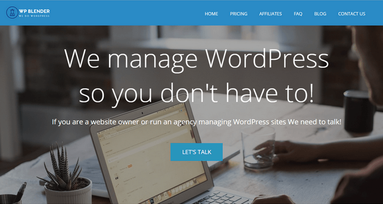 WP Blender - A WordPress Maintenance Solution for Your Peace of Mind