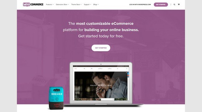 WooCommerce is the most customizable eCommerce platform.
