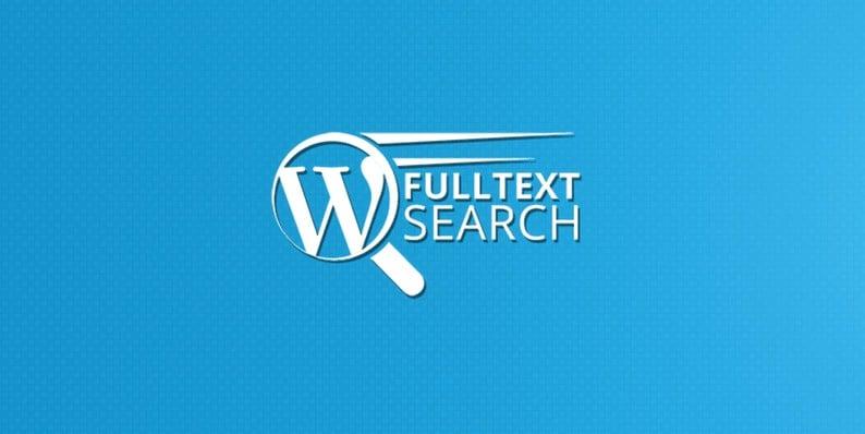 WordPress FullText Search WordPress Plugin