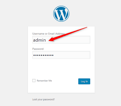 Change the Default Admin Login