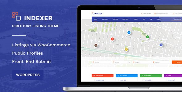 Indexer is a multi-purpose WordPress theme suitable for coupons and discounts websites.
