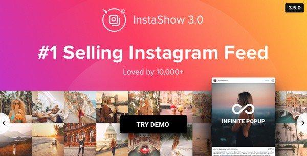 InstaShow is a popular WordPress Instagram feed plugin.